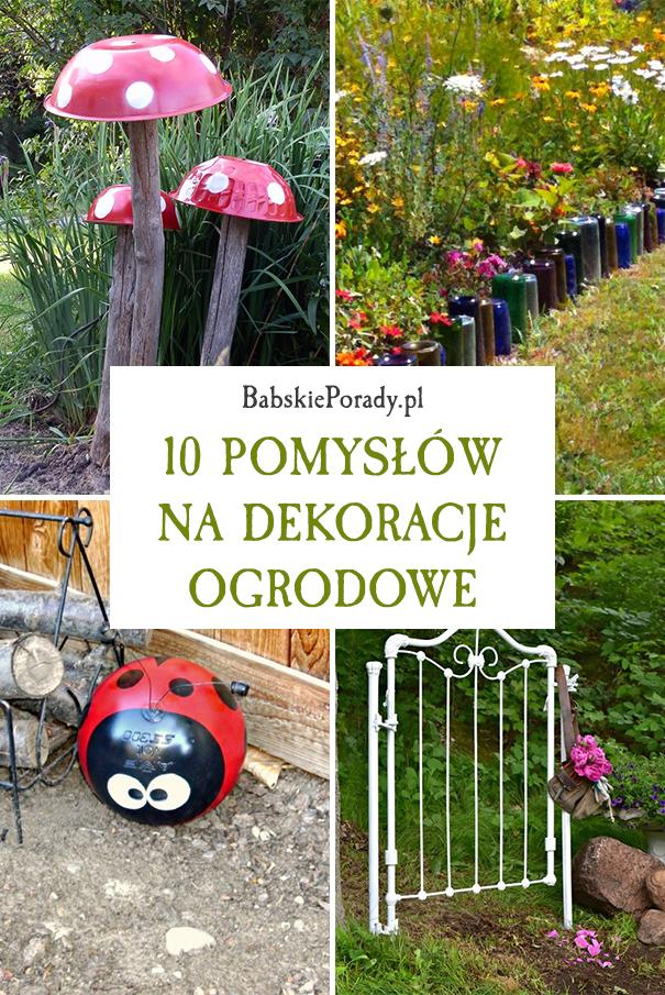 dekoracje ogrodowe, pomysły na dekoracje ogrodowe, dekorowanie ogrodu