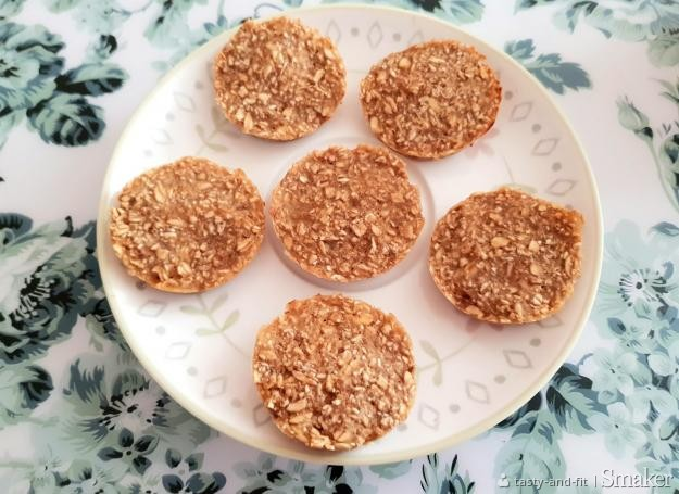 2 składnikowe ciasteczka owsiane