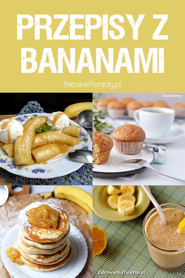 przepisy z bananami